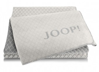 Joop!-Plaid-Diamond-rauch-graphit