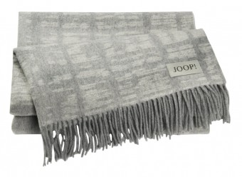 Joop!-Plaid-Shadow-silber