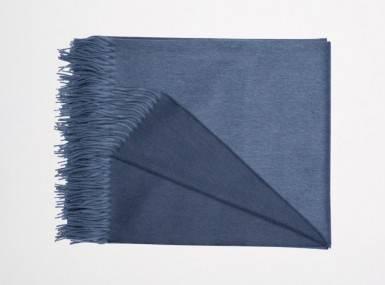 Vorschaubild begg arran reversible plaid bluejean slate