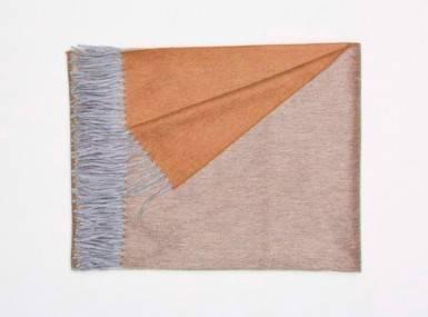 Vorschaubild begg arran reversible plaid flannel rust
