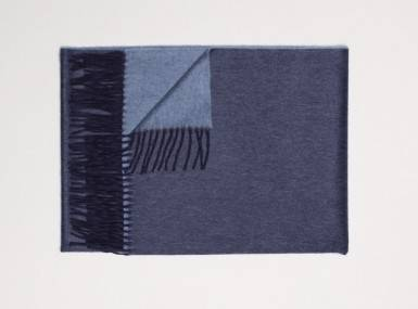 Vorschaubild begg arran reversible plaid navy bluejean
