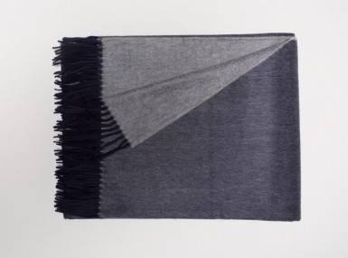 Vorschaubild begg arran reversible plaid navy grey