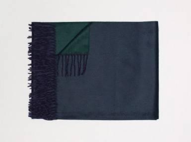 Vorschaubild begg arran reversible plaid navy tartan green