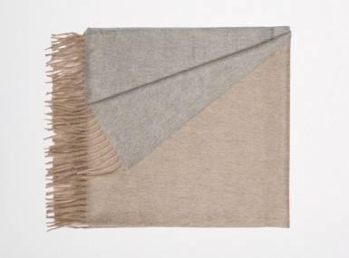 Vorschaubild begg arran reversible plaid stone flannel