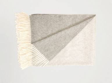 Vorschaubild begg arran reversible plaid white flannel