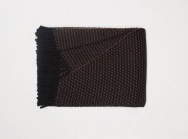 Vorschaubild begg clyde honeycomb plaid black vicuna