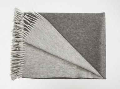 Vorschaubild begg jura reversible plaid flannel dark grey