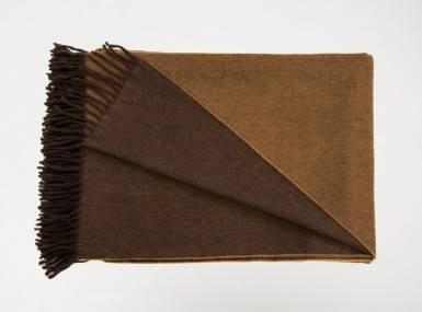 Vorschaubild begg jura reversible plaid oak camel