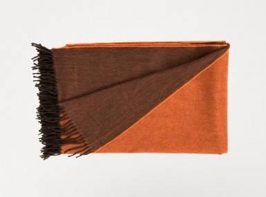 Vorschaubild begg jura reversible plaid oak orange