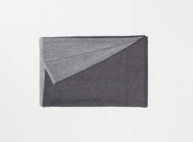 Vorschaubild begg vale reversible plaid charcoal grey