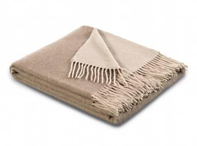 Vorschaubild biederlack kaschmir plaid natur sand