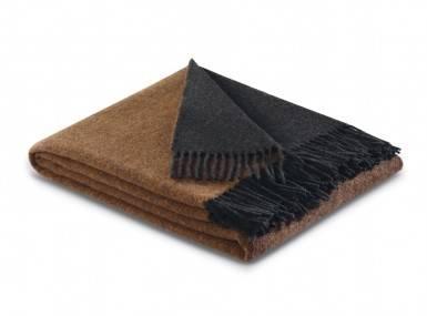 Vorschaubild biederlack kaschmir plaid terra graphit