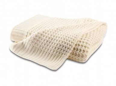 Vorschaubild biederlack knit plaid ecru