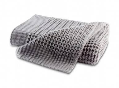 Vorschaubild biederlack knit plaid grey