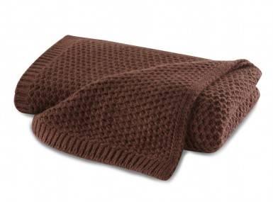 Vorschaubild biederlack knit plaid grey rust