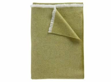 Vorschaubild curt-bauer-kuschelplaid-wolle-oliv