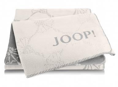 Vorschaubild joop plaid cornflower double ecru graphit