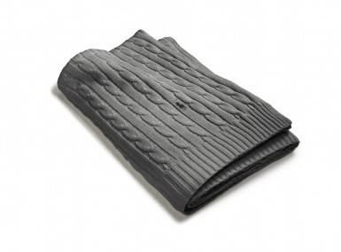 Vorschaubild ralph lauren cable tagesdecke charcoal