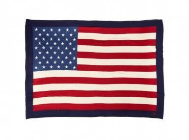 Vorschaubild ralph lauren flag tagesdecke