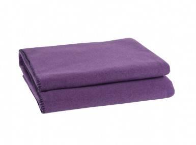 Vorschaubild zoeppritz soft fleece tagesdecke aubergine lila