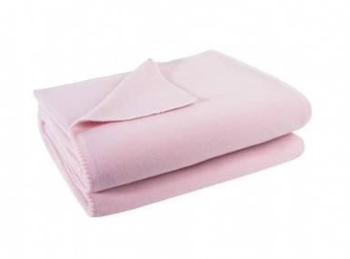 Vorschaubild zoeppritz soft fleece tagesdecke dark rose rosa