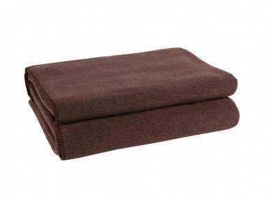 Vorschaubild zoeppritz soft fleece tagesdecke dunkelbraun