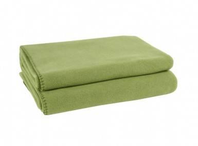 Vorschaubild zoeppritz soft fleece tagesdecke gruen