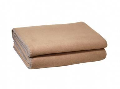 Vorschaubild zoeppritz soft fleece tagesdecke sahara braun