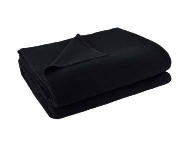 Vorschaubild zoeppritz soft fleece tagesdecke schwarz