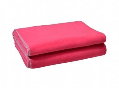 Vorschaubild zoeppritz soft fleece tagesdecke wild blossom pink